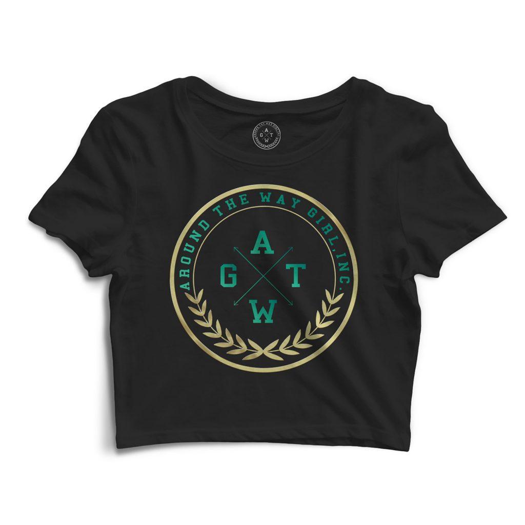 Logo + T-Shirt Design : Around The Way Girl, Inc.
