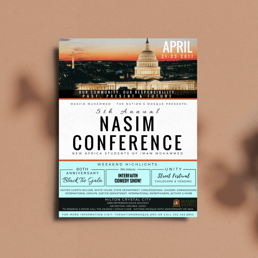Print Marketing : NASIM Conference