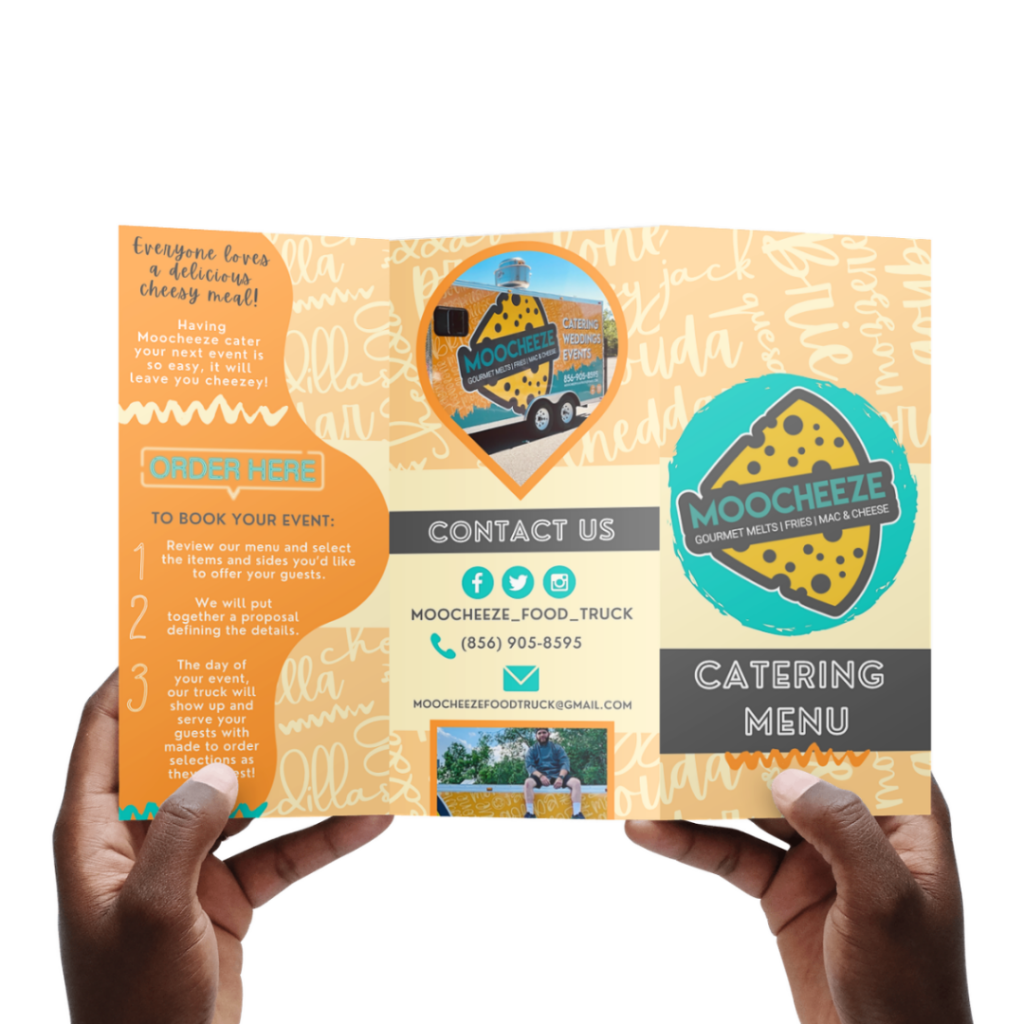 Print Marketing : MOOCHEEZE Food Truck