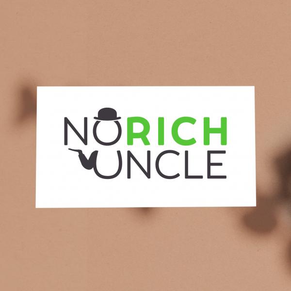 Logo Design : No Rich Uncle
