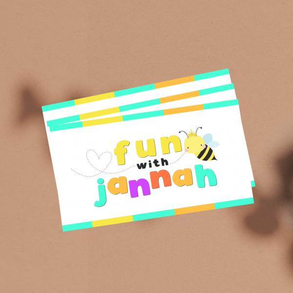 Logo Design: Fun with Jannah